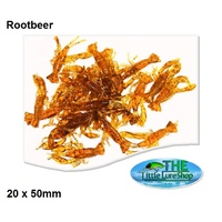 20x 50mm Rootbeer Yabbies Soft Bait Plastic Fishing Lures