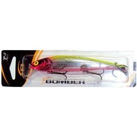 BOMBER B 15 HOT PINK CHARTREUSE BACK LONG A FISHING LURES