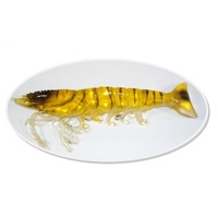 "6"" Bite Me Lures Real Shrimp Wedgies - Gold"