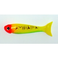 "3"" Bite Me Lures BARRA WEDGIES - Tiger Clown"