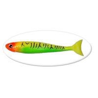 "7"" Bite Me Lures BARRA WEDGIES - Tiger Clown"