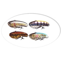 4 x 80mm Shadd Vibe Fishing Lures