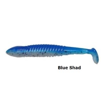 120mm Bruiser Baits Grub Colorado Paddle Lures