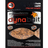 Dynabait Freeze Dried Bloodworms Bulk 200g Pack Equiv-1KG