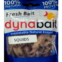 DynaBait Soft Squid Dyna Bait Fishing Lure Bream Flathead Bass Jack