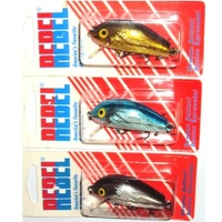 Rebel 50mm Humpback Wee R Crankbait Lure