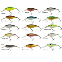 50mm BERKLEY FLICKER SHAD PRO FLASHY RED LURES