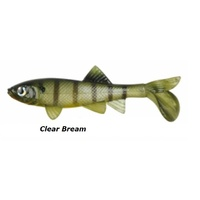 4in Berkley Havoc Sick Fish - Clear Bream