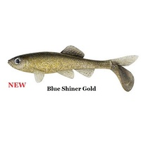 4in Berkley Havoc Sick Fish - Blue Shiner Gold