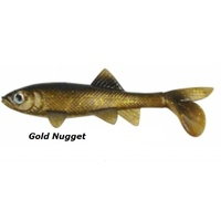 4in Berkley Havoc Sick Fish - Gold Nugget