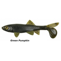 4in Berkley Havoc Sick Fish Soft Plasitc Lures - Green pumpkin