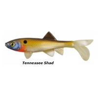 4in Berkley Havoc Sick Fish Soft Plasitc Lures - Tennessee Shad