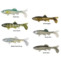 "6 Pks 4"" Berkley Havoc Gold Sick Fish Fishing Lures"