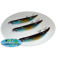 LLS BENT MINNOW 11cm Blue Gold MULLET