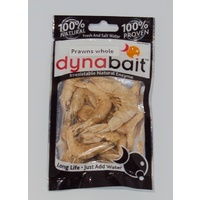 DynaBait Freeze Dried Prawns Shrimp Dyna Bait Fishing Lure Flathead Mangrove Jack