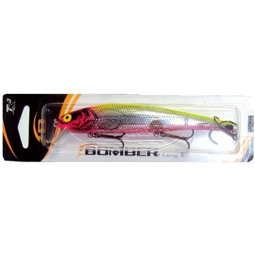 Bomber 15a barra lures chartreuse pink for Chartreuse fishing lures