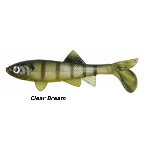 5.5in Berkley Havoc Papa Sick Fish - Clear Bream