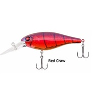 "2"" Berkley Bad Shad -  Red Craw"