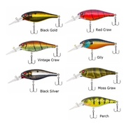 70mm Berkley Bad Shad 7 Frenzy Deep Casting Crank Rattle Fishing Lure 8Ft