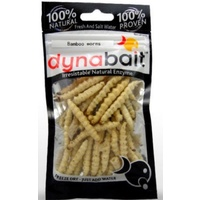 DynaBait Freeze Dried Bamboo Worms Mealy Grub maggots Dyna Bait Fishing Lure