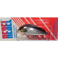 Rebel 50mm Humpback Wee R Crankbait - Chrome Black Back