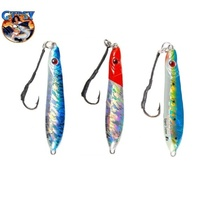 3x 80g Gypsy MICRO JIGS Butterfly Jig Fishing Lures