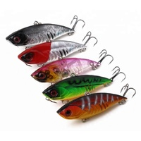 65mm Hard Body Vibe Freshwater Fishing Lure TACKLE Twitchbait Bream Bass Flathead Cod