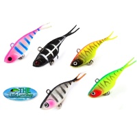 70 mm Soft Plastic Vibe Fishing Lures Bream Lure Whiting Bass Transam Like Lure