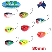 Game Fishing Lures Big BOB Popper Topwater Lure Game Poppers Tuna Barra Saratoga
