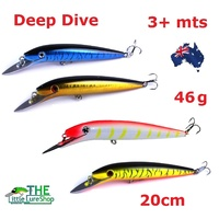 Big Game Fishing Lures - 4 Colour Pack