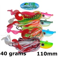 40g Octo Micro Jig Slow Pitch Jigs Snapper kingfish Tuna Jigging Inchiku Lures