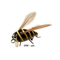 "1"" Winged Insect Flies - Bumblebee"