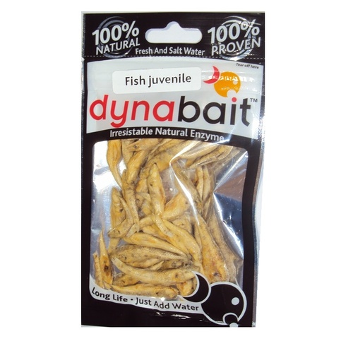 DynaBait Freeze Dried Juvenile Baby Fish Dyna Bait Fishing Lure